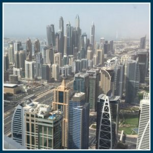 View from DMCC building,