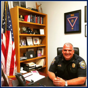 Police Chief Foti Koskinas, from Dan Woog's website