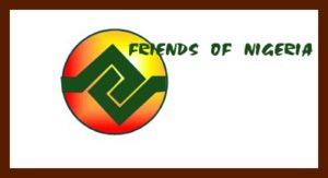 Friends of Nigeria logo on our website
